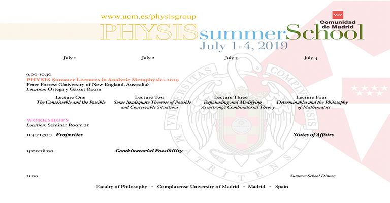 PHYSIS Summer School 2019